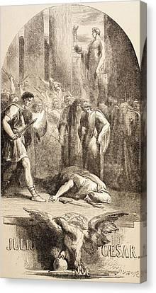 Julius Caesar Canvas Print by John Gilbert