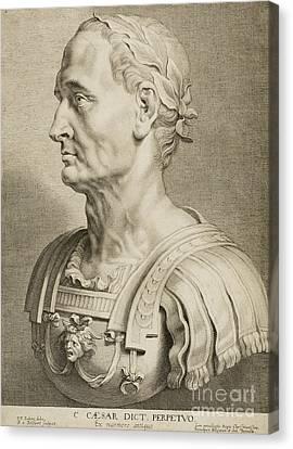 Julius Caesar Canvas Print by Roman School