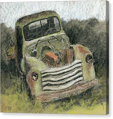 Junkyard Chevy Canvas Print by David King