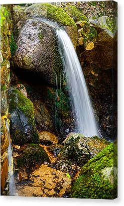 Just A Very Small Waterfall II Canvas Print by Marco Oliveira