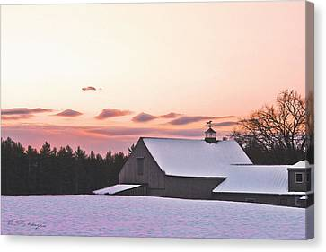 Just Before Christmas Canvas Print by M S McKenzie