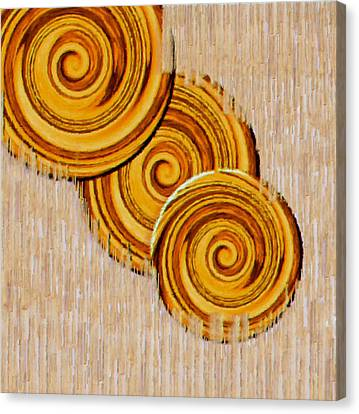 Just Bread Canvas Print by Pepita Selles