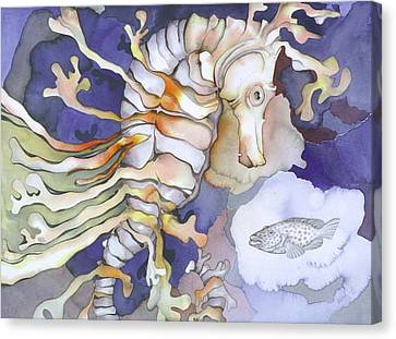 Just Dreaming Too Canvas Print by Liduine Bekman