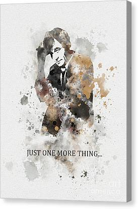 Just One More Thing... Canvas Print by Rebecca Jenkins