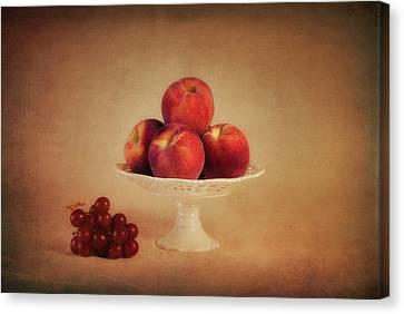 Just Peachy Canvas Print by Tom Mc Nemar