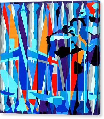 Justify Canvas Print by Dennis McCann
