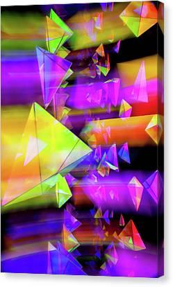 Kaleidoscopic Mind Canvas Print by Az Jackson