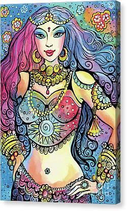 Kali Canvas Print by Eva Campbell