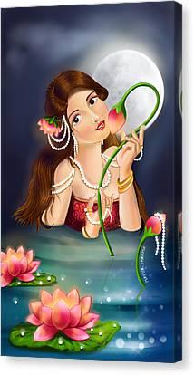Kamal Priye Canvas Print by Mayur Sharma