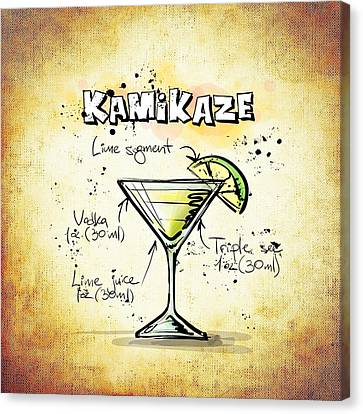 Kamikaze Canvas Print by Movie Poster Prints