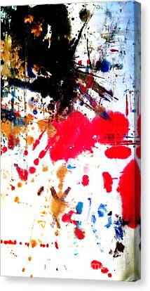 Kamor Abstract Canvas Print by Amy Sorrell