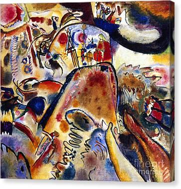Kandinsky Small Pleasures Canvas Print by Granger