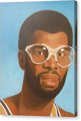 Kareem Canvas Print by Nigel Wynter