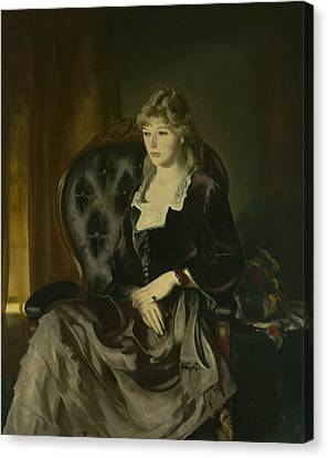 Katherine Rosen Canvas Print by George Bellows