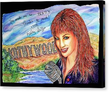 Kathywood Canvas Print by Joseph Lawrence Vasile
