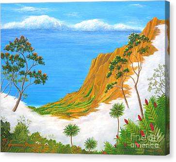 Kauai Hawaii Canvas Print by Jerome Stumphauzer