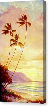 Kauai Sunset Canvas Print by Jenifer Prince