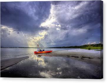 Kayak Pcb Canvas Print by JC Findley