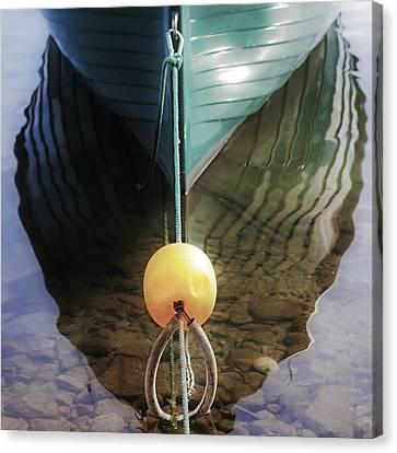 Keel Of A Boat Canvas Print by Joana Kruse