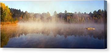 Kennedy Pond Canvas Print by Frank Winters