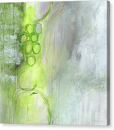 Kensho- Abstract Art By Linda Woods Canvas Print by Linda Woods