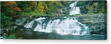Kent Falls State Park, Connecticut Canvas Print by Panoramic Images