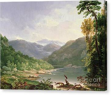 Kentucky River Canvas Print by Thomas Worthington Whittredge