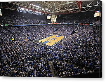 Kentucky Wildcats Rupp Arena Canvas Print by Replay Photos