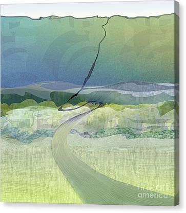 Keuka Incline  Canvas Print by CR Leyland