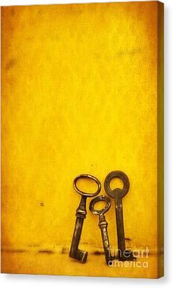 Key Family Canvas Print by Priska Wettstein