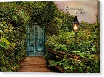 Key To Dreams Canvas Print by Robin-lee Vieira