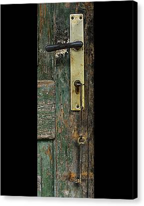 Key To The Barn Canvas Print by Don Wolf