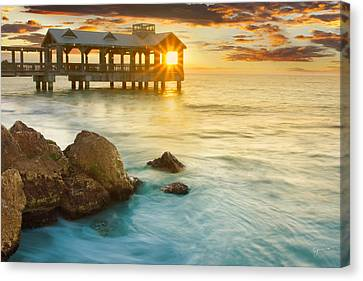 Key West Sunrise - Craigbill.com - Open Edition Canvas Print by Craig Bill