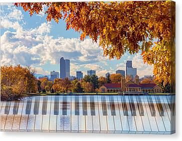 Keys To The City Of Denver Canvas Print by James BO Insogna