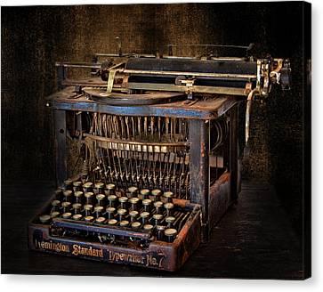 Keys To Words Canvas Print by David and Carol Kelly