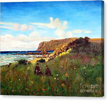 Kildonan  Canvas Print by MotionAge Designs