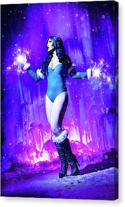 Killer Frost Canvas Print by Ian MacDonald