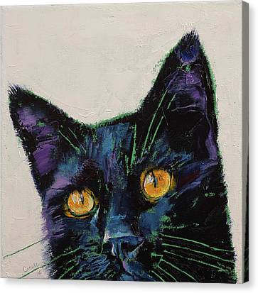 Killer Canvas Print by Michael Creese