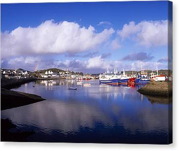 Killybegs, Co Donegal, Ireland Canvas Print by The Irish Image Collection