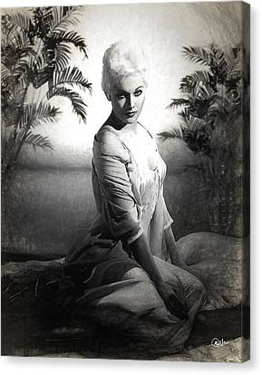 Kim Novak Sketch Canvas Print by Quim Abella