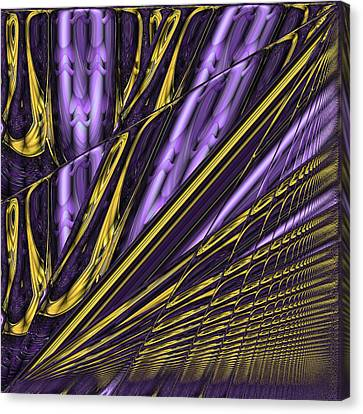 Kinesis Canvas Print by Wendy J St Christopher