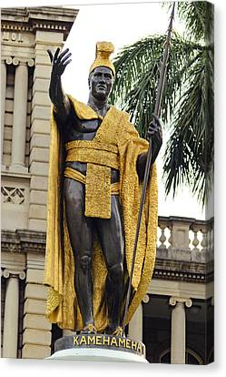 King Kamehameha Canvas Print by James Crawford