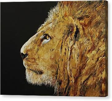 King Canvas Print by Michael Creese