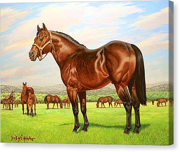 King P-234 No.two Canvas Print by Howard Dubois