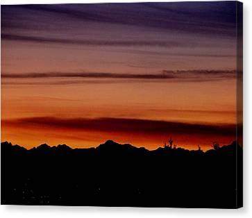 Kirkland At Sunset Canvas Print by Barbara Norfleet