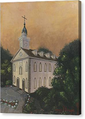 Kirtland Temple Canvas Print by Jeff Brimley