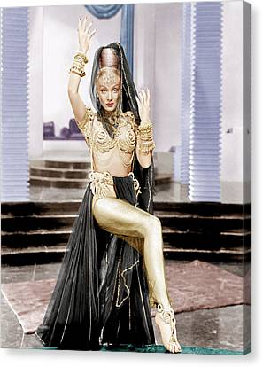 Kismet, Marlene Dietrich, 1944 Canvas Print by Everett
