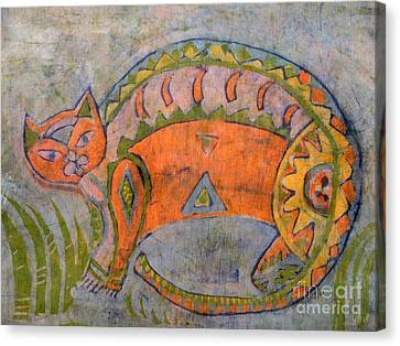 Kitta Canvas Print by Caroline Street