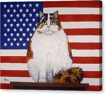 Kitty Ross Canvas Print by Linda Mears