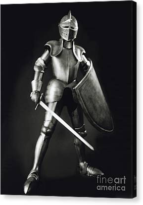 Knight Canvas Print by Tony Cordoza